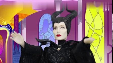 趣味童话故事-睡美人-公主被女巫施魔咒沉睡-王子想办法拯救
