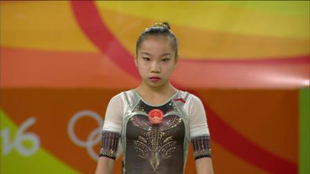 2016年 里约奥运会 单项决赛 王妍 自由操