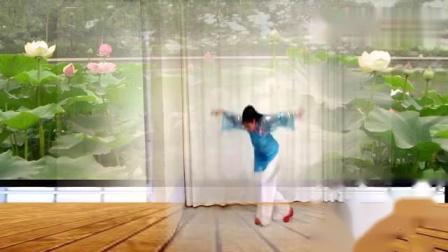 """卡罗尔广场舞""""清明雨上""""格格编舞习舞carol"""