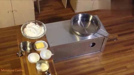 微型美食:迷你蛋黄面包