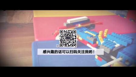 邯郸机器人学习中心积木军事系列创意之强力机械弩结构讲解