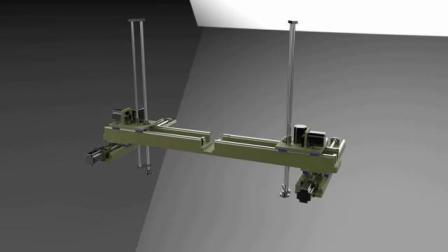 旋转式丝杆龙门架模组安装结构-王工 13472595883
