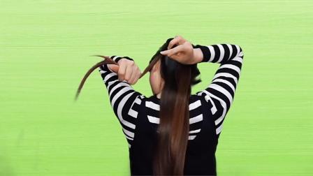 真人编发,40岁女人千万别去烫发,那样太丑,这款发型扎上超美