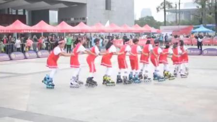 米高冯辉国际轮滑中心少年组拉龙冠军