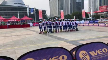 米高冯辉国际轮滑中心儿童组一队拉龙