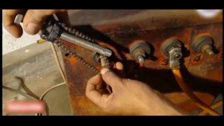 脑洞大开牛人用链条加螺栓自制的工具简直就是