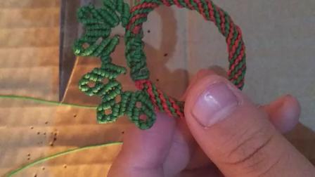 圣诞花环,叶子2