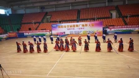 衡阳市首届排舞广场舞大赛荣获冠军节目(哈达)