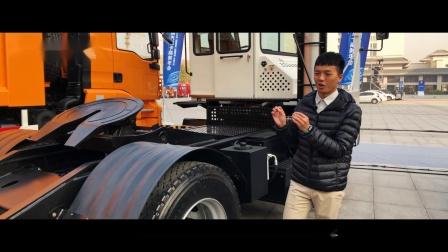 【爱瞎扯的飞机】出口韩国的陕汽码头专用偏置牵引车介绍