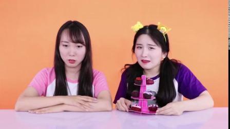 桃桃小厨神挑战DIY美味小蛋糕-新魔力玩具学校