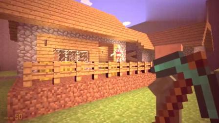 GMOD游戏村民为什么指责奥特曼拿了西瓜