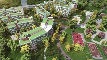泸州职业技术学院三期新校区及一二期扩建项目动画