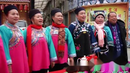 贵州布依年节,布依山歌迎贵宾,原汁原味歌声