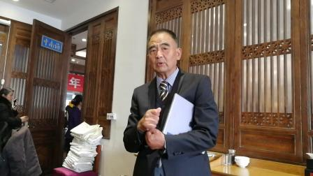 20181215孙立哲在靳之林先生告别仪式后的谈话