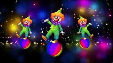 L2577-愚人节小丑跳舞表演视频