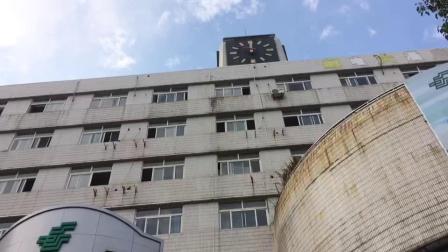 黄山邮电大酒店钟楼中午12点报时