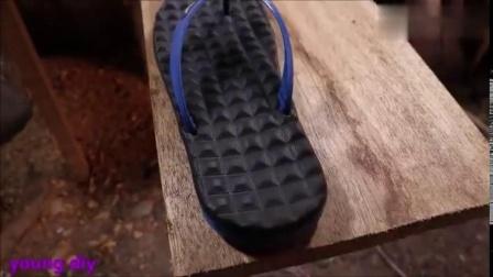 DIY,看牛人是如何使自制一个简单的溜冰鞋,孩