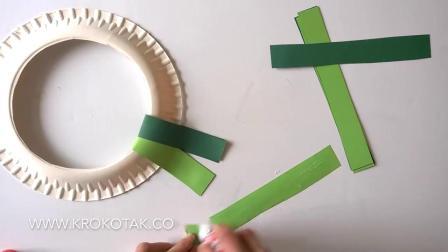 【每周亲子手工】圣诞花环DIY Christmas Wreath