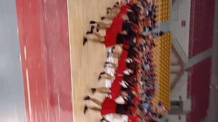娄底铜锣湾广场队2O18年12月Ⅰ6日全民健身挑战日。