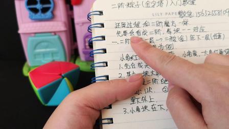 二阶粽子魔方教程1