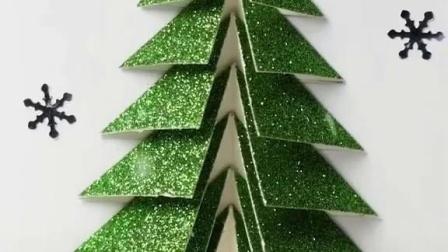 圣诞节手工贺卡