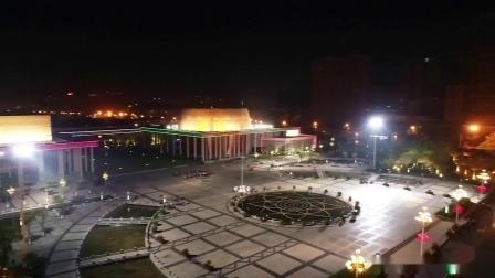 广西玉林市玉东新区夜景