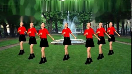 筷子兄弟代表作《小苹果》广场舞32步,歌醉舞更嗨,人人都会跳
