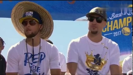 NBA总冠军金州勇士队:听听库里和克莱怎么说