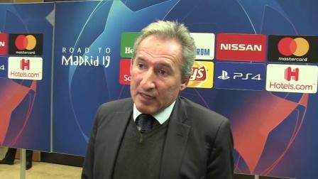 贝吉里斯坦承认曼城对阵沙尔克04有难度