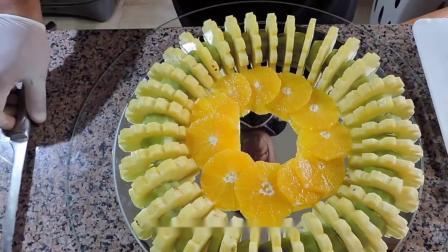 美丽的水果拼盘的制作方法,让生活更加有滋味