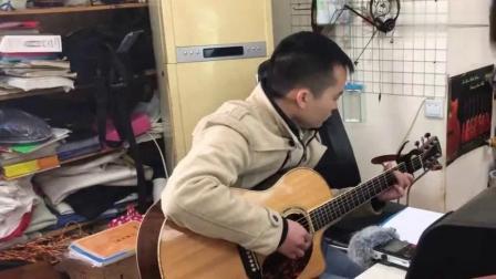 牛人把经典老歌的前奏串起来用吉他弹奏,就像