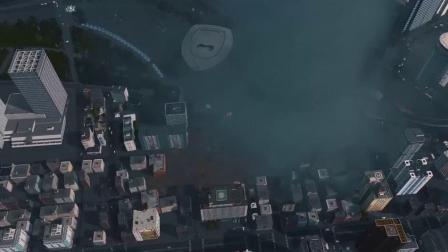 《Cities Skylines城市天际线》自然灾害电影片段,这特效不止5毛吧?