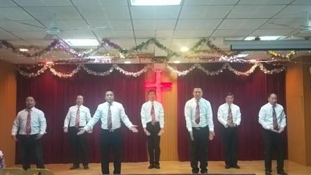 小市教会圣诞节:弟兄舞蹈让赞美飞杨