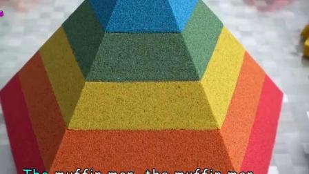 益智玩具:做彩虹蛋糕玩玩