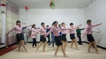 基督教舞蹈(希望之星)自编,夹沟镇辛丰舞蹈团原创