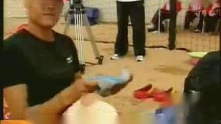 我在全运会女子沙排决赛落幕 解放军组合卫冕山西摘银截了一段小视频