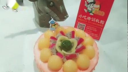 食为先美食大课堂视频教学,线上自学水果蛋糕制作