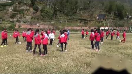 《足球-腳內側踢球》人教版初一體育與健康,葉奶春