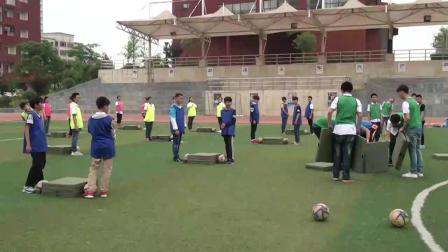 《足球-腳內側踢球》人教版初一體育與健康,余樂