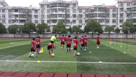 《足球射門》人教版初一體育與健康,王先岳