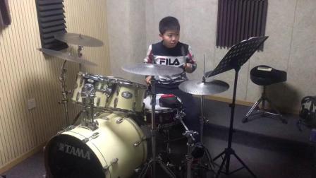 乐之共鸣音乐培训架子鼓学生常亦远演奏2
