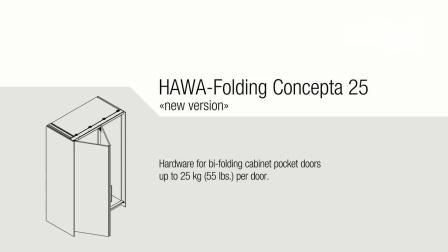 折叠插入门 (HAWA-Folding Concepta 25)安装视频
