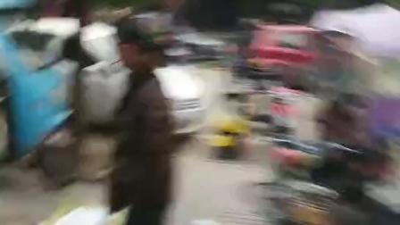 安徽省淮南市谢家集区蔡家岗世纪阳光步行街中通快递取件被打