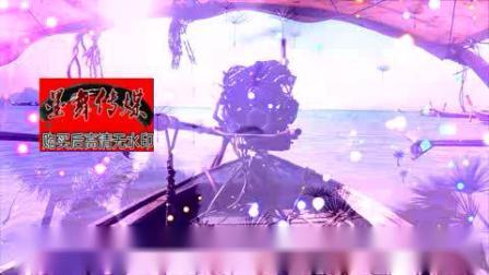 咖喱咖喱旋转木马摩天轮卡通六一儿童节梦幻城堡led背景视频素材