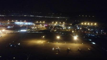 航空GJ8860航班咸阳机场05R起飞 西安飞十堰 12 11 21:27