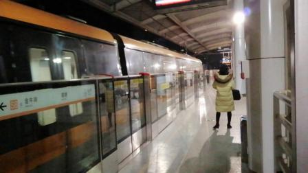 宁天城际S8通过葛塘站