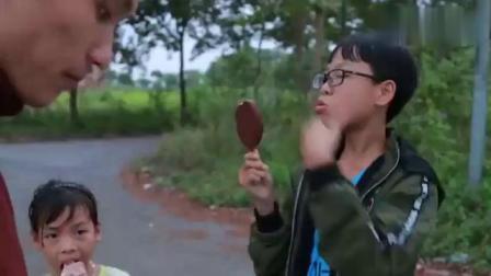 儿童益智启蒙早教,宝宝买冰淇淋蛋筒吃