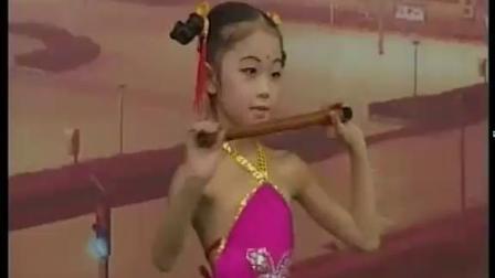 宝宝榜:张佑丹《笛中花》舞蹈表演