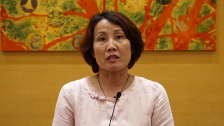 示范校采访视频——上海金汇实验学校周燕平
