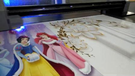 理光UV高速打印设备 玻璃移门打印机 瓷砖背景墙打印机